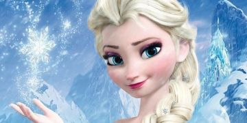 "Elsa de Arendelle, protagonista de ""Frozen"" (2013)."