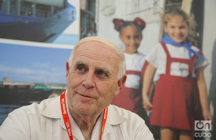 Jay S. Brickman, Vicepresidente de Servicios de Gobierno de Crowley Maritime Corporation. Foto: Claudio Pelaez Sordo / Archivo.