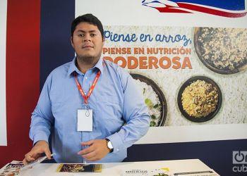 USA Rice en FIHAV 2017. Foto: Claudio Pelaez Sordo.