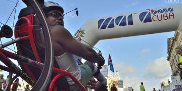 Personas con discapacidad física tienen la posibilidad de participar en el Marabana. Foto: Otmaro Rodríguez.