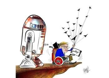 Dibujo: Ramsés Morales Izquierdo.