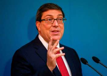 El ministro de Exteriores de Cuba, Bruno Rodríguez. Foto: Desmond Boylan / AP.