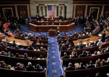 Cámara de Representantes de EE.UU. Foto: Brendan Smialowski / AFP .