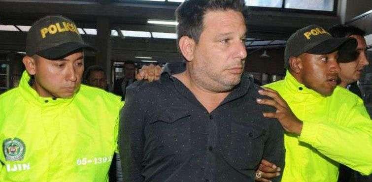 El cubano Raúl Gutiérrez Sánchez (centro) fue detenido en Colombia por ser un presunto terrorista islámico. Foto: Abel Cárdenas / El Tiempo.