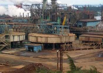 """Fábrica de Níquel """"Pedro Soto Alba"""", en Moa, Holguín. Foto: Manuel Valdés / Trabajadores."""
