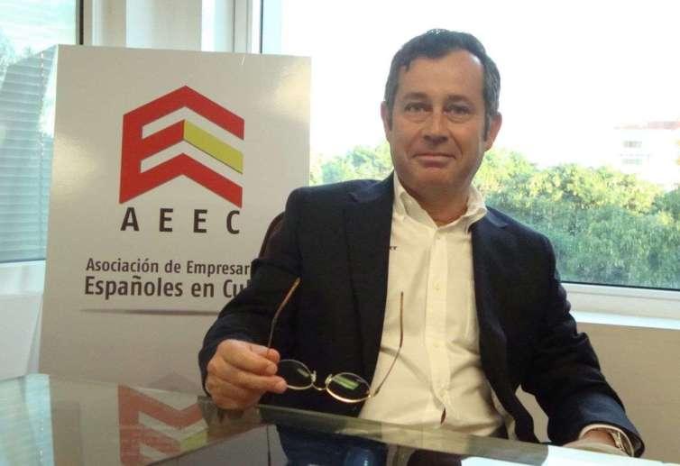 Xulio Fontecha, presidente de la AECC. Foto: Idalmys Benítez.