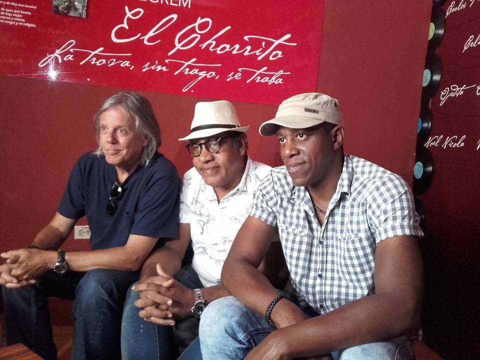 Virulo, Jorge Díaz y Tony Ávila. Foto: Tomada del evento en Facebook.