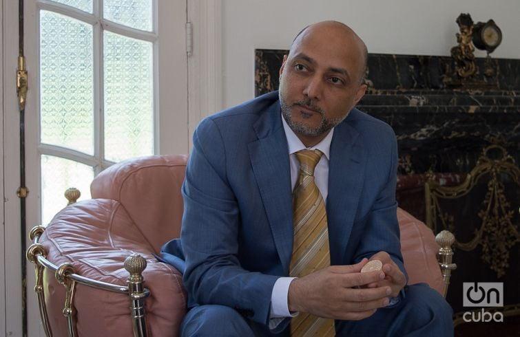 Bader Abdullah Al Matrooshi. United Arab Emirates ambassador in Cuba. Photo: Otmaro Rodríguez.