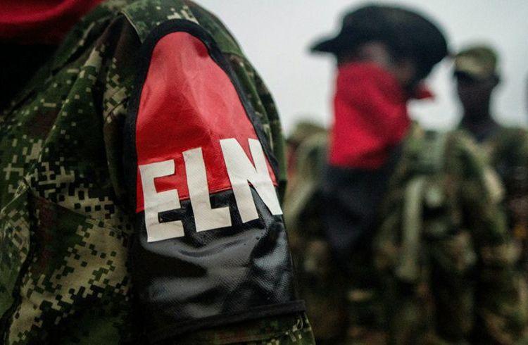Guerrilleros del ELN. Foto: @elespectador / Twitter.