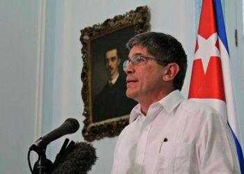 Carlos Fernández de Cossío, director general para Estados Unidos delMinisterio de Relaciones Exteriores de Cuba. Foto: Minrex / Archivo.