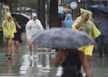 La tormenta tropical Gordon ha dejado mucha lluvia a su paso por EE.UU. Foto: La Prensa.