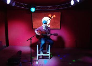 Luis Barbería. Foto: Tomada del evento en Facebook creado por el artista.