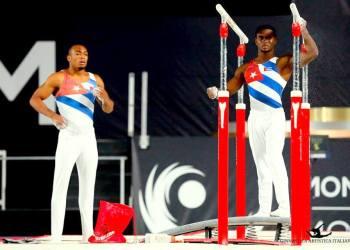 Las Copas del Mundo son una nueva ventana de clasificación olímpica para los gimnastas cubanos. Foto: FIG