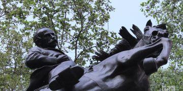 La estatua de Martí en el Central Park de Nueva York. Foto: Milena Recio.