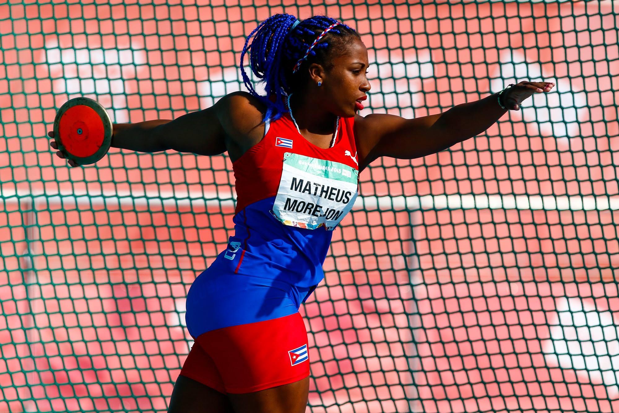 Melany Matheus dio un ejemplo de superación personal en los Juegos Olímpicos de la Juventud. Foto: Calixto N. Llanes