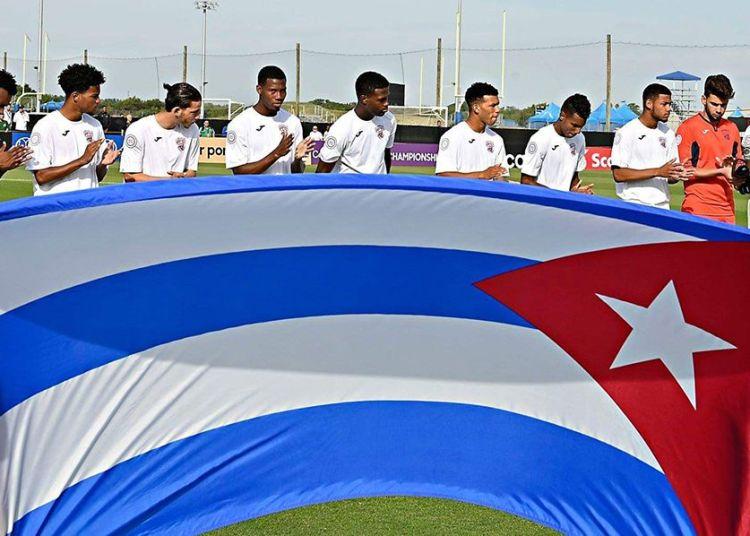 Los chicos de Raúl González Triana, ya sin opciones de ir al Mundial, tendrán que esperar por nuevas oportunidades de fogueo. Foto: Concacaf