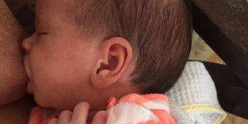 Nina aumentó 80 gramos y creció 1 cm en su primera semana de vida.