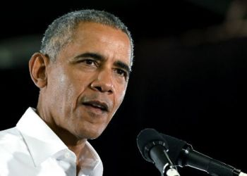 Barack Obama en Miami. Foto: Getty Images.