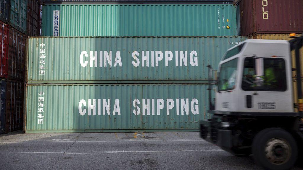 Contenedores de China Shipping en el puerto de Savannah, Georgia, 5 de julio de 2018. Foto: Stephen B. Morton / AP.