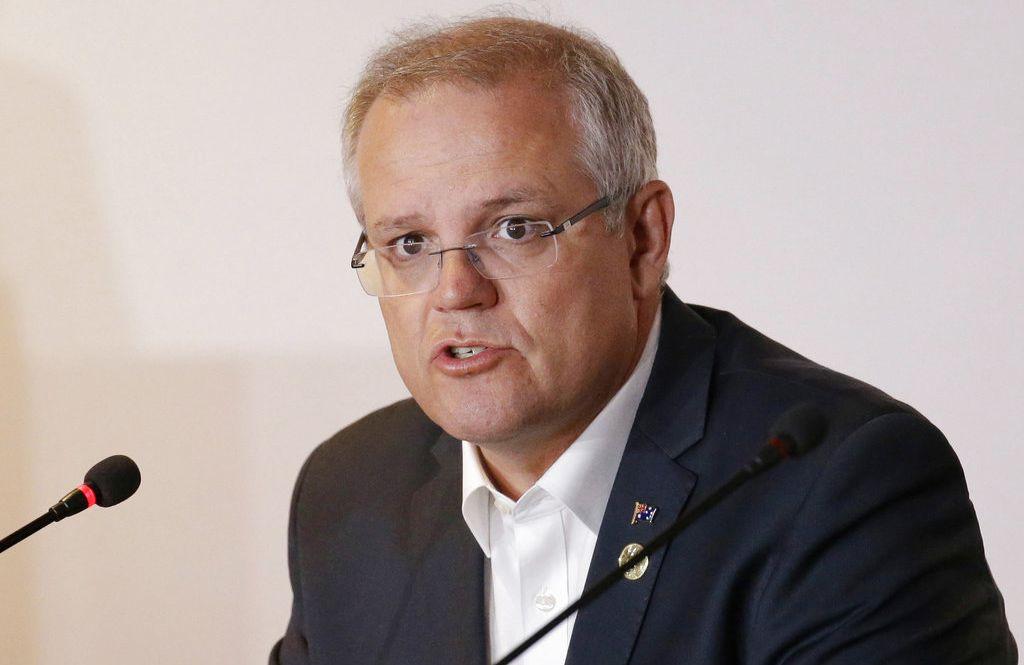 El primer ministro australiano Scott Morrison. Foto: Aaron Favila / AP / Archivo.
