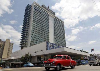 Hotel Habana Libre, en La Habana. Foto: Ernesto Mastrascusa / EFE.