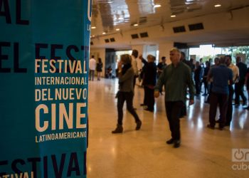 Apertura del 40 Festival Internacional del Nuevo Cine Latinoamericano de La Habana. Foto: Otmaro Rodríguez.
