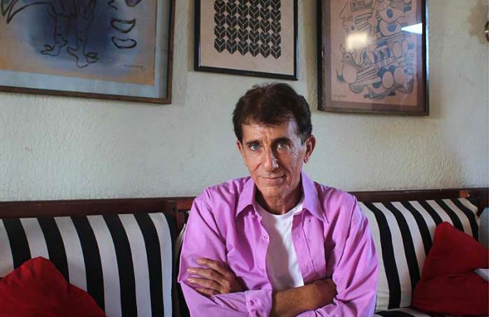 El dramaturgo cubano Nicolás Dorr, Premio Nacional de Teatro. Foto: Granma.