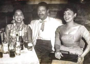 Celeste Mendoza, Benny Moré y Olga Navarro.