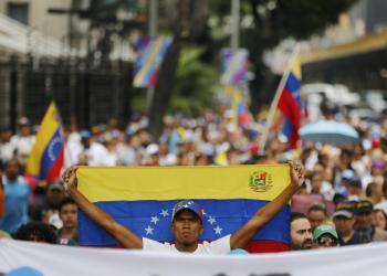 Marchas en Caracas Foto: Fernando Llano, AP