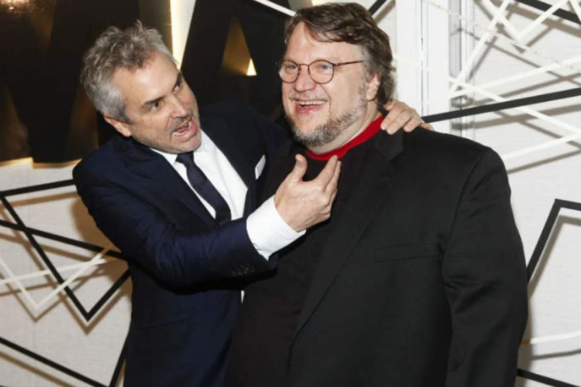Alfonso Cuarón y Guillermo del Toro / Creative Commons.