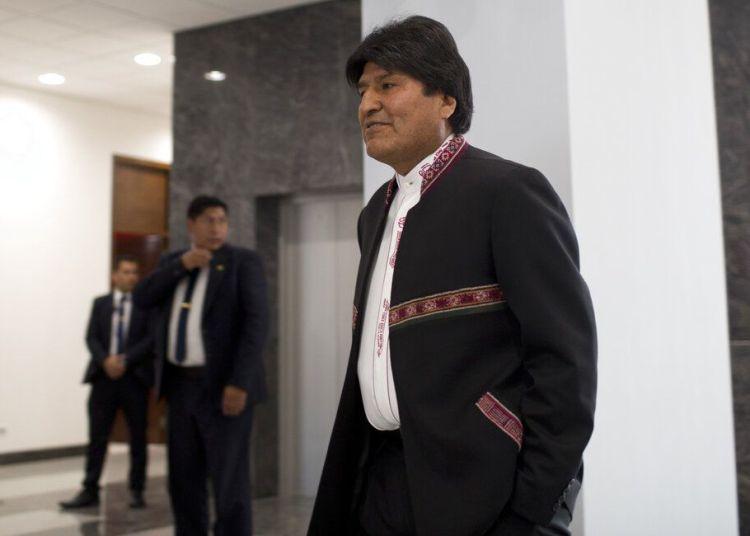 El presidente boliviano Evo Morales. Foto: Juan Karita / AP / Archivo.