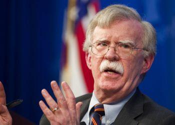 El asesor de Seguridad Nacional de Estados Unidos, John Bolton, en la Heritage Foundation en Washington, 13 de diciembre de 2018. Foto: Cliff Owen / AP.