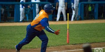 La ofensiva de los Gallos no pudo descifrar al pitcheo de Villa Clara. Foto: Otmaro Rodríguez