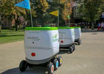 La multinacional PepsiCo apuesta por robots para hacer entregas. Foto: PepsiCo / Usa Today.