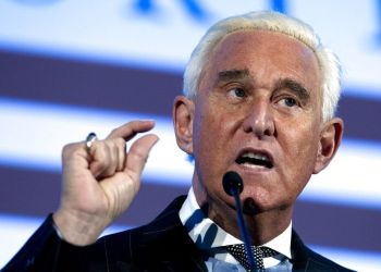Roger Stone en una conferencia en Washington en 2016. Foto: Jose Luis Magana / AP / Archivo.