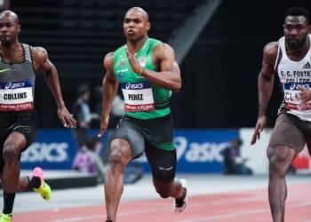 Yunier Pérez, olímpico por Cuba en Beijing 2008, ha alcanzado múltiples lauros en España (recordista nacional en 60 metros), pero ha tenido la mala fortuna de lesionarse dos veces de gravedad desde el 2018. Foto: Tomada del Diario AS
