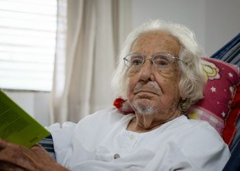 El sacerdote y poeta nicaragüense Ernesto Cardenal. Foto: Franklin Villavicencio / Niú.
