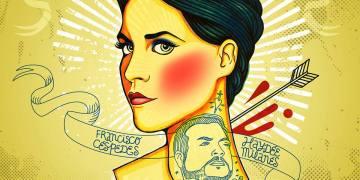 """Cover diseñado por Robertico Ramos para el lanzamiento del tema """"A mi lado"""", dúo de Haydée Milanés y Pancho Céspedes."""