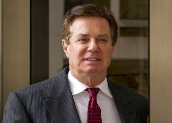 Paul Manafort, exjefe de la campaña electoral del presidente Donald Trump. Foto: Andrew Harnik, AP.