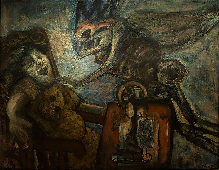 Antonia Eiriz, La anunciación. Foto: Museo Nacional de Bellas Artes, Cuba.
