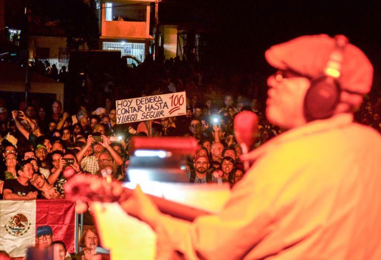 Concierto de Silvio Rodríguez en Jesús del Monte. Foto: Kaloian.
