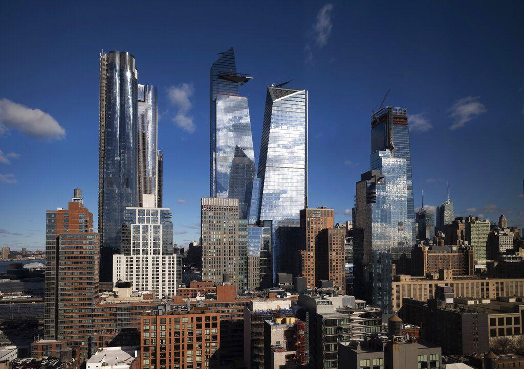 Rascacielos de Hudson Yards, el monumental proyecto que avanza a pasos acelerados en Nueva York, el 4 de diciembre de 2018. Foto: Mark Lennihan / AP.