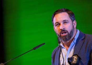 Santiago Abascal, líder del ultraderechista partido Vox. Foto: EFE.