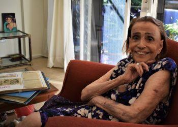 Amelita Vargas en Buenos AIres, 2019. Foto: Leandro Estupiñán.