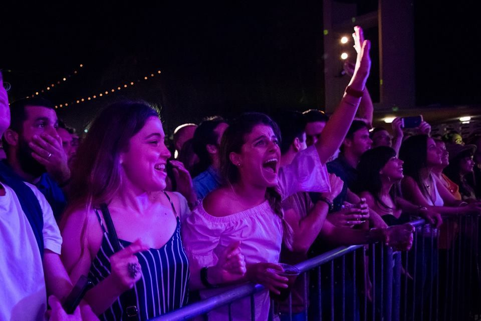 Vista del público durante el concierto de Cimafunk en Miami. Foto: Eloy Costa / Perfil de Facebook de Cimafunk.