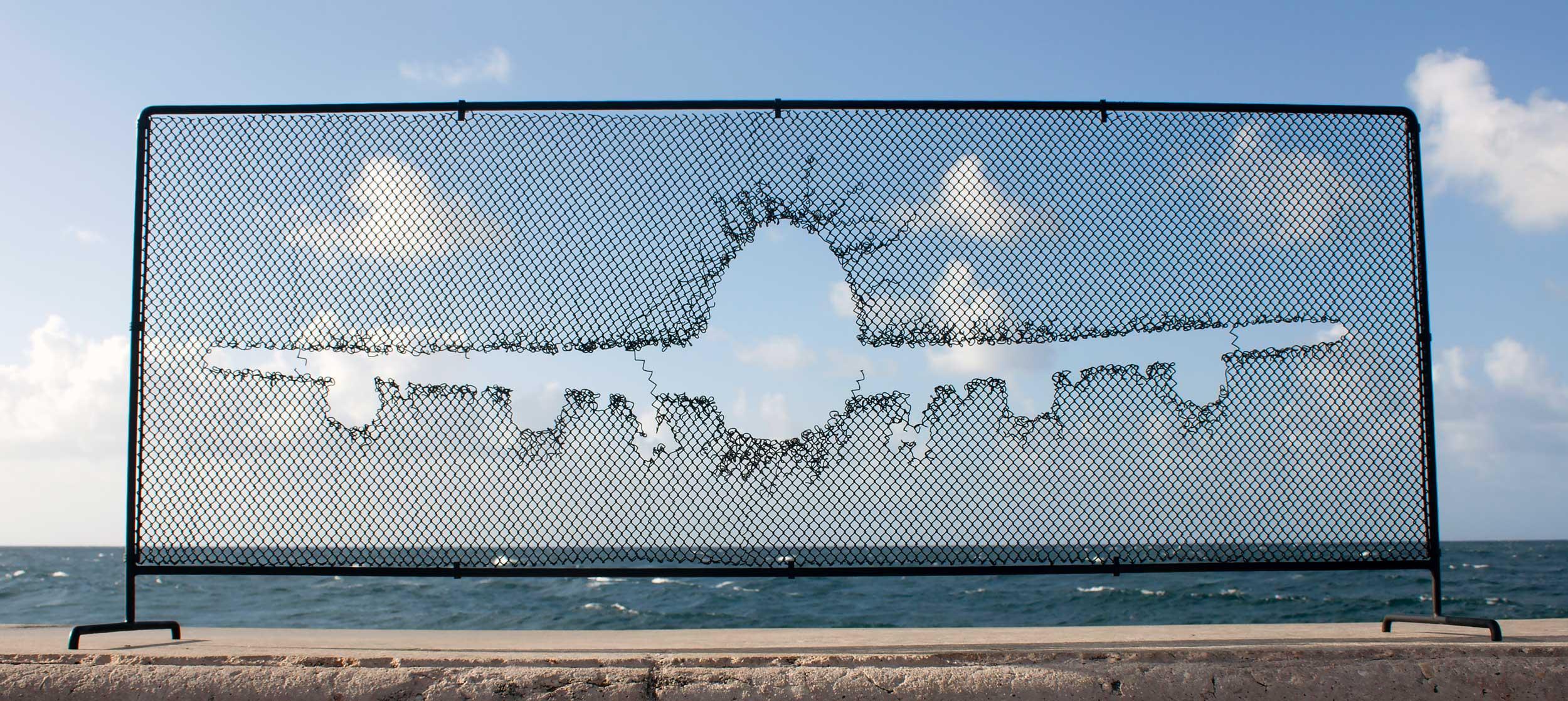 Detrás del Muro. 11 Bienal de La Habana. Foto: Detrás del Muro.