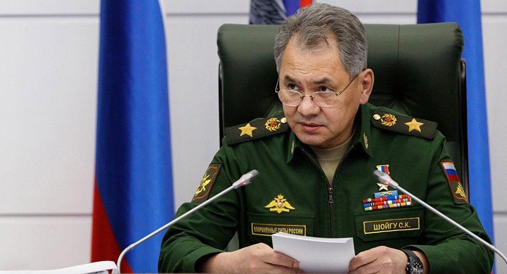 El ministro de Defensa de Rusia, Serguéi Shoigú. Foto: Ministerio de Defensa de Rusia / Sputnik News / Archivo.