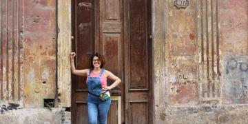 Haidee Cano en La Habana. Foto: Cortesía de la entrevistada.