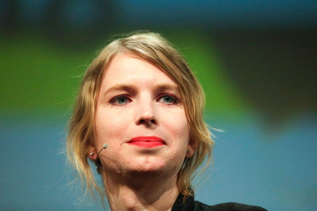 """Chelsea Manning en la convención de medios """"República"""" en Berlín el 2 de mayo de 2018. Foto: Markus Schreiber / AP."""