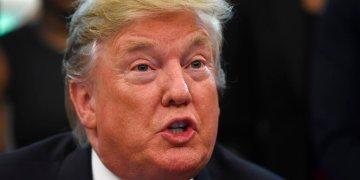 El presidente Donald Trump en la Oficina Oval de la Casa Blanca el lunes 29 de abril de 2019 en Washington. Foto: Susan Walsh / AP.